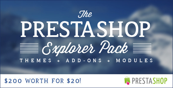 The PrestaShop Explorer Pack