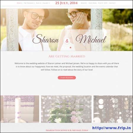 Wedding Bliss Template