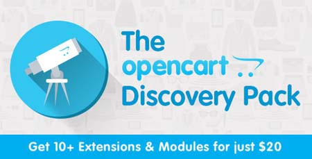 opencart discovery pack