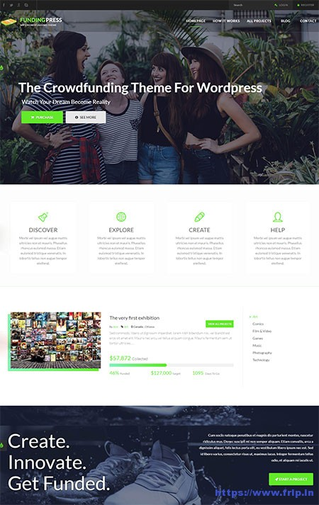 fundingpress-the-crowdfunding-wordpress-theme