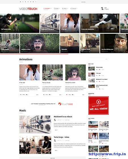 Video-Touch-WordPress-Theme