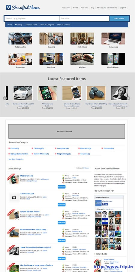 classified-wordpress-theme