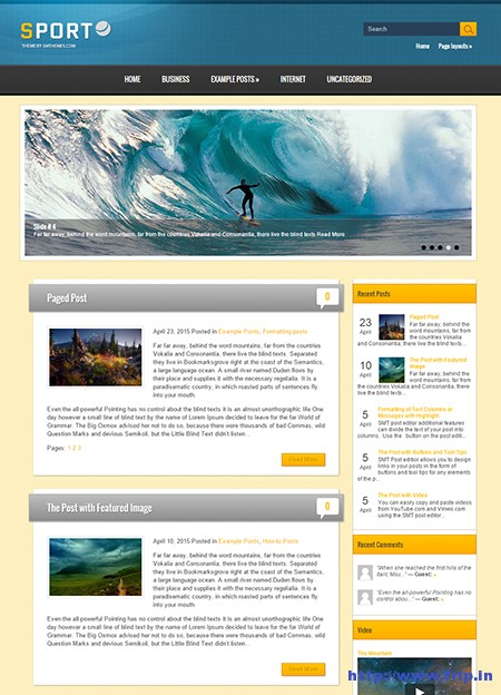 sport-wordpress-theme