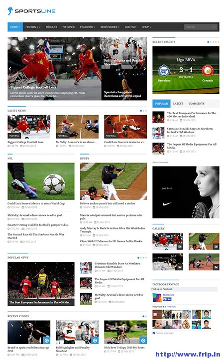 sportsline-wordpress-theme