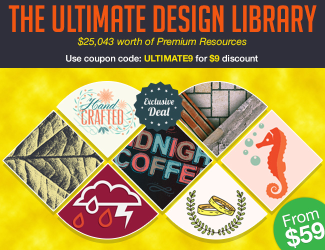 the ultimate design library bundle