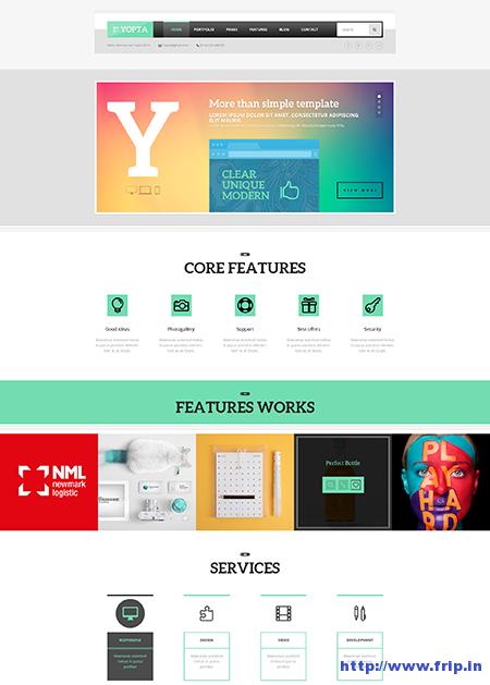 yopta wordpress theme