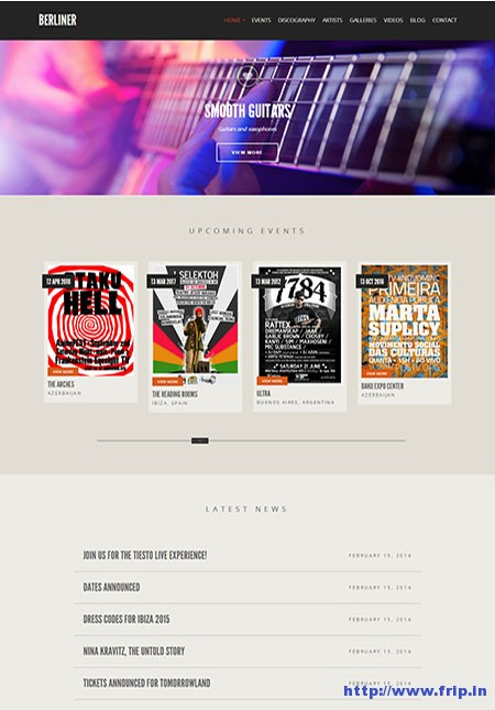 Berliner-WordPress-Theme