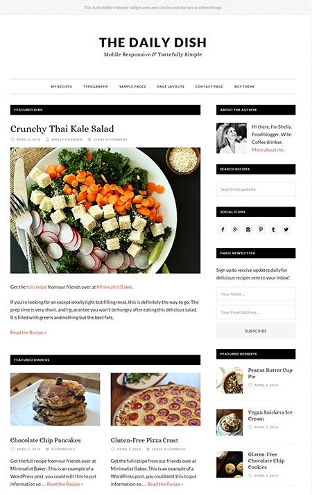 Daily Dash WordPress Theme