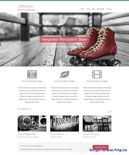 Delalia Blog WordPress Theme