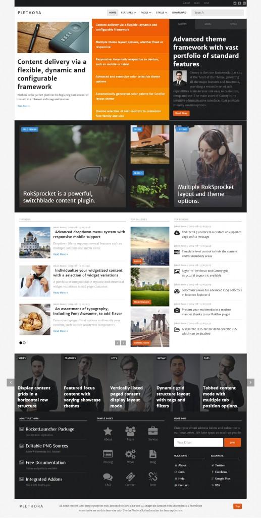 Plethora WordPress Theme