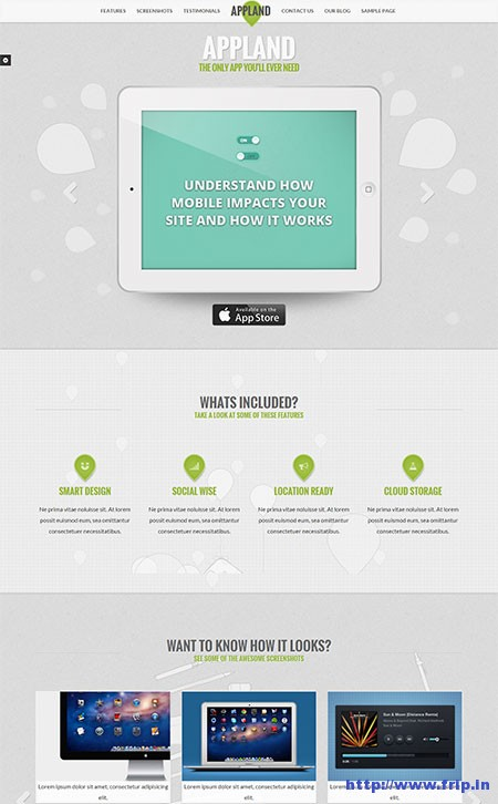 App-Land-WordPress-Theme