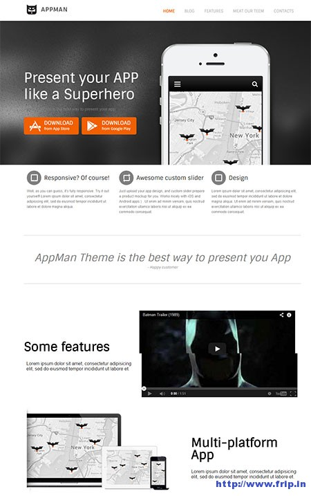 AppMan-WordPress-Theme