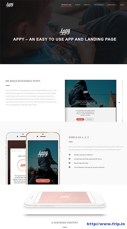 Appy-WordPress-Landing-Page