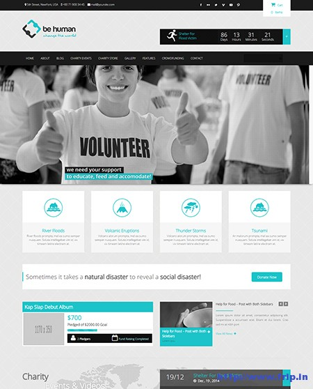 Be-Human-Charity-WordPress-Theme