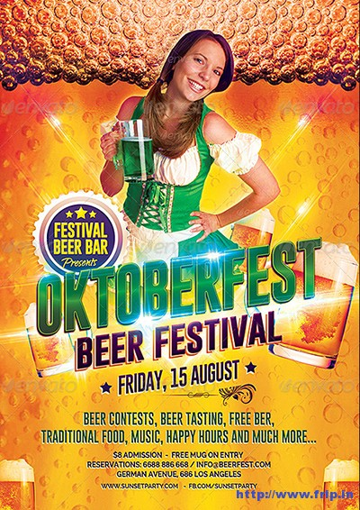 Beer Festival Party Flyer