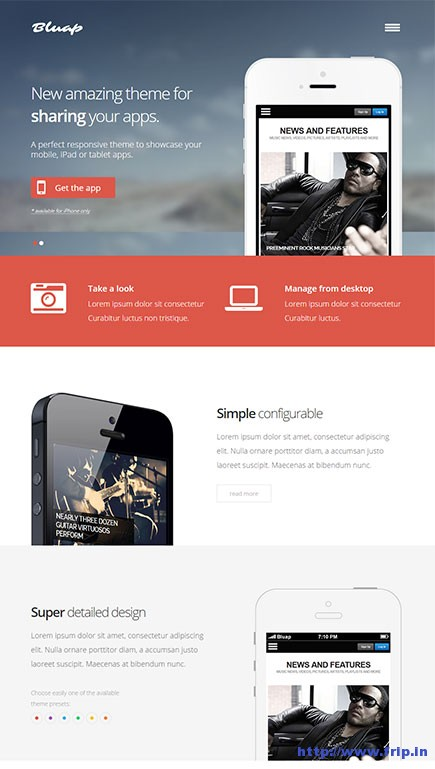 Bluap-WordPress-Theme