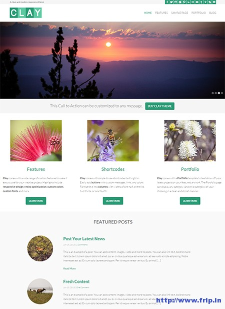 Clay-Responsive-Natural-WordPress-Theme