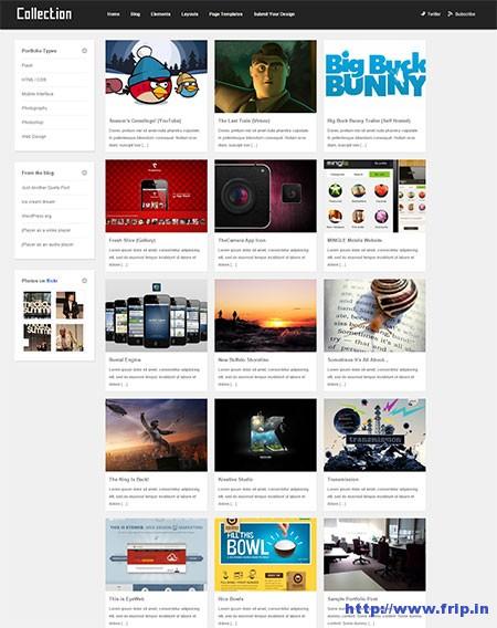Collection-WordPress-Theme