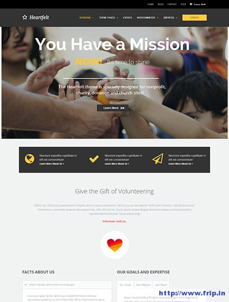 Heartfelt-Responsive-WordPress-Theme