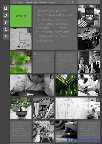 Ikebana-Masonry-WordPress-Theme