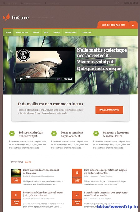 InCare-WordPress-Theme