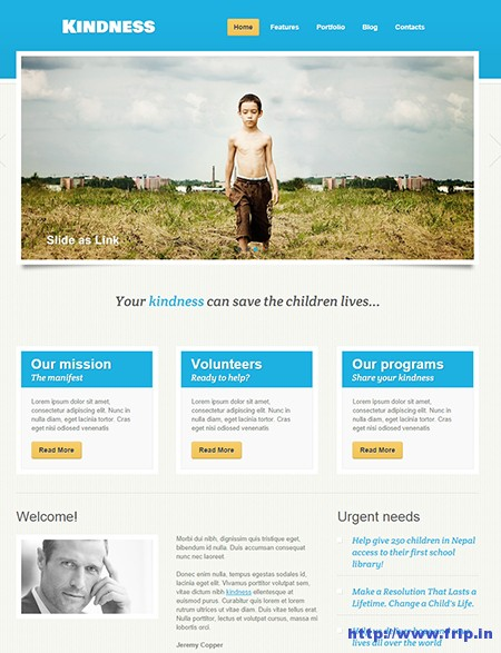 Kindness-WordPress-Theme