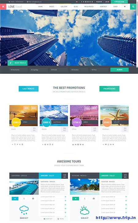 Love-Travel-WordPress-Theme