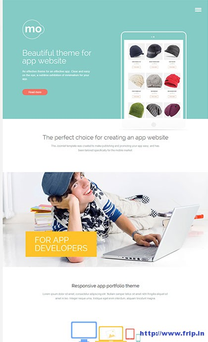 Mo-App-WordPress-Theme