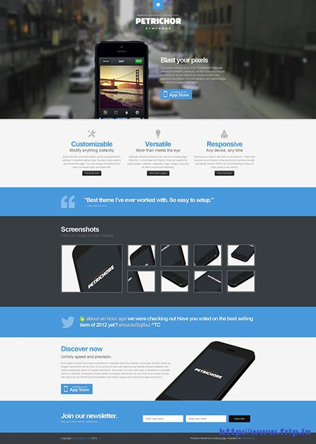 Petrichor-Responsive-WordPress-Theme