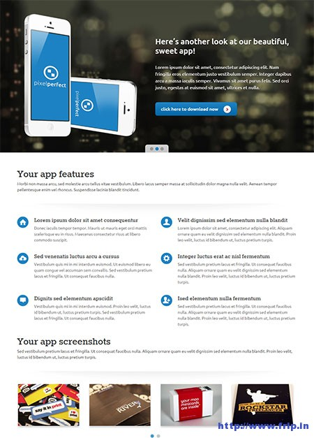 PixelPerfect-Responsive-Landing-Page-Theme