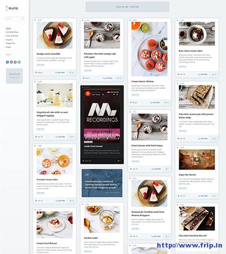 Pluto-Clean-WordPress-Masonry-Themes