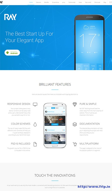Ray-App-Responsive-WordPress-Theme