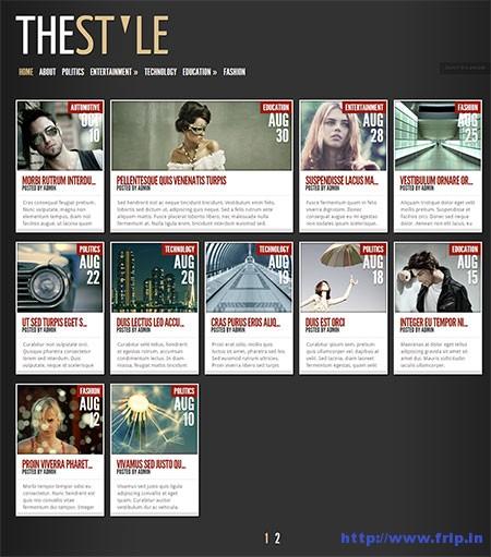 The-Style-WordPress-Theme