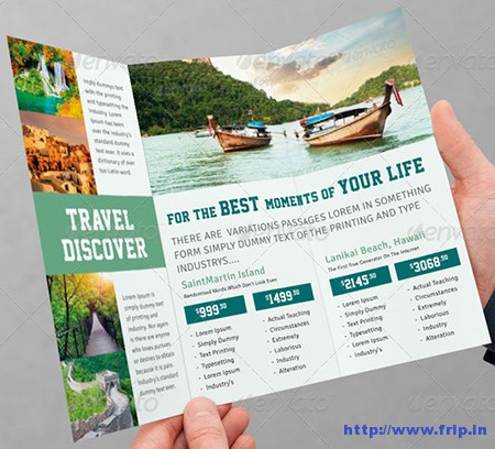 Tourism Tri – Fold Brochure Vol.4