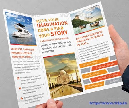 Tourism Tri – Fold Brochure