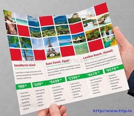 Tourism Tri – Fold Brochures