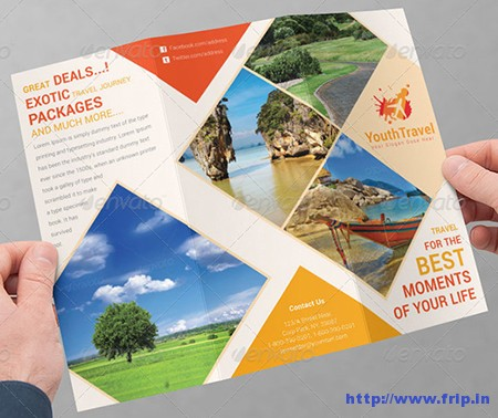 Travel Business Tri – Fold Brochure