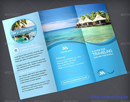 Travel TriFold Brochure Vol. 1