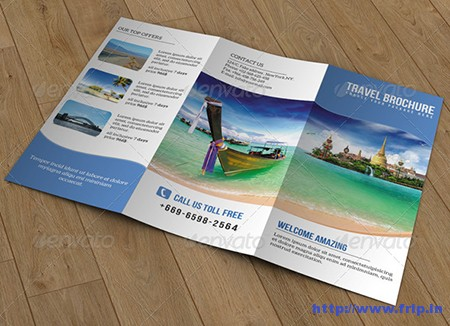 Travel Trifold Brochure – V52