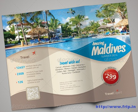 Travel Trifold Brochures