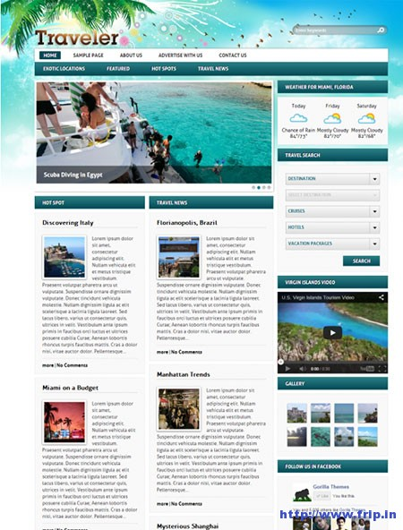 Traveler-WordPress-Theme