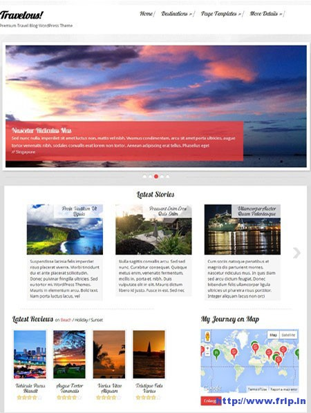 Travelous-WordPress-Theme