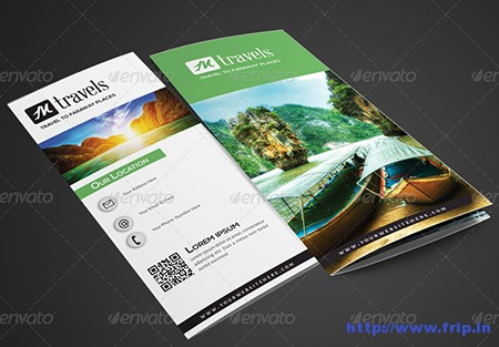 Tri – Fold Travel Brochure