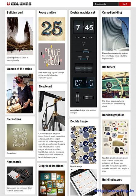 U-–-Columns-WordPress-Theme
