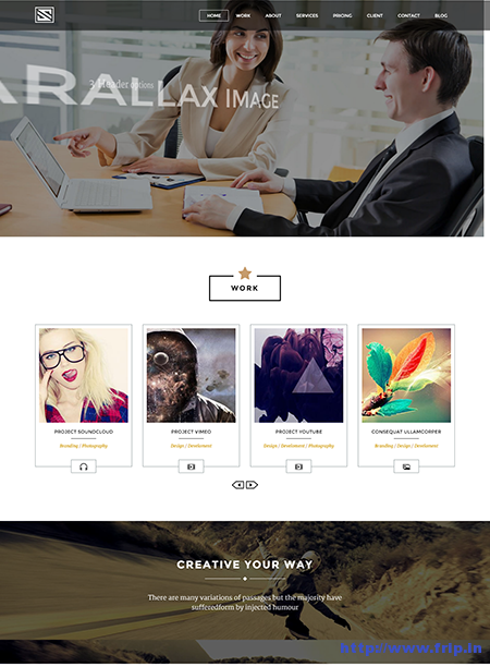Vastudio One Page Drupal Theme