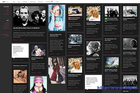 Wall-Dark-Pinterest-WordPress-Theme