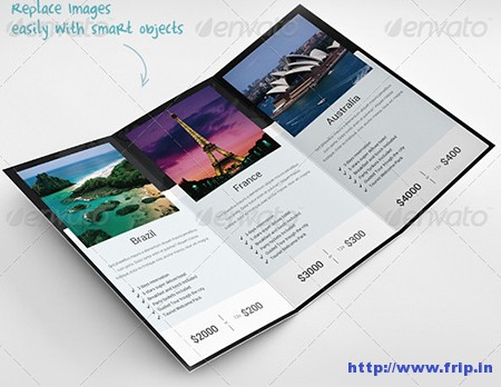 World Traveler Tri Fold Brochure