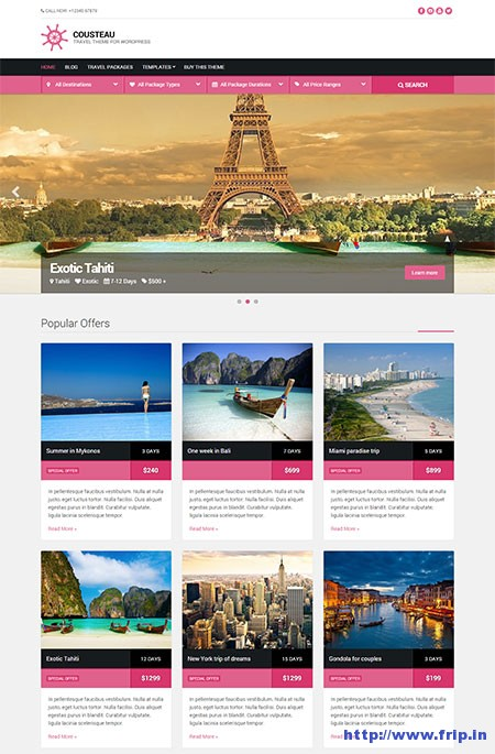 cousteau-travel-wordpress-theme