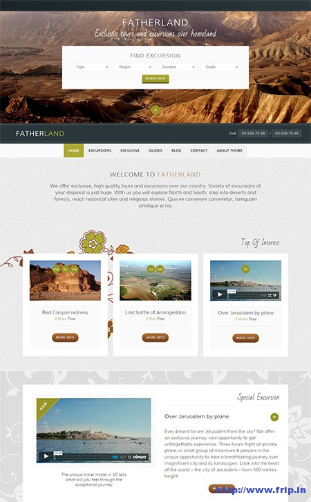 fatherland-wordpress-theme