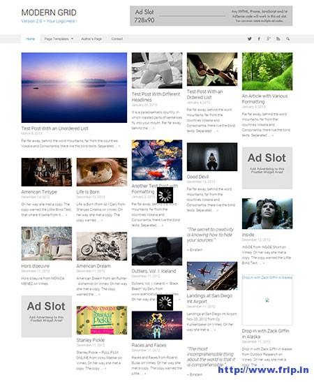 modern-grid-wordpress-theme